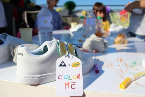 CRAYOLA LE COQ SPORTIF POP AND PARTNERS