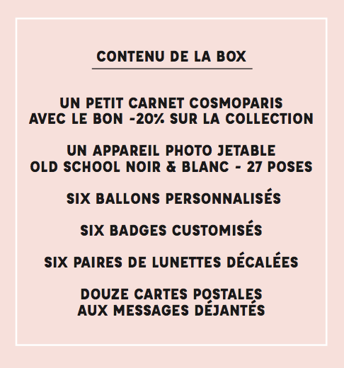 Wedding Box Cosmoparis