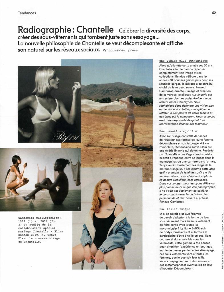MARIE CLAIRE - MAI 2019 - PARU